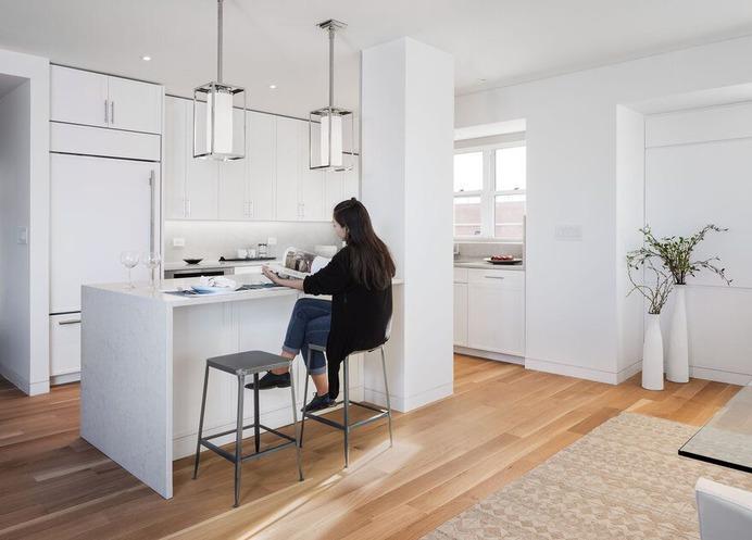 kitchen, New York apartments, Greenwich Village