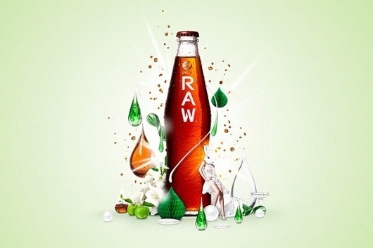 Pepsi RAW on the Behance Network #norway #sweden #raw #oslo #pepsi #anti