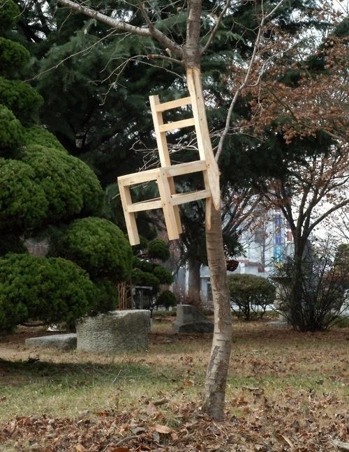 chair by Myeongbeom Kim #chair #carpenter #tree