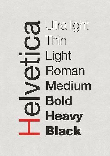 Helvetica Poster by J. Kleyn #inspiration #font #art #poster #type #helvetica