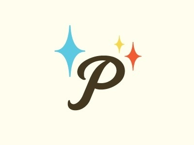 Dribbble - Photopia 03 by Bill Biwer #mark #lettering #mcm #stars #identity #photopia #logo
