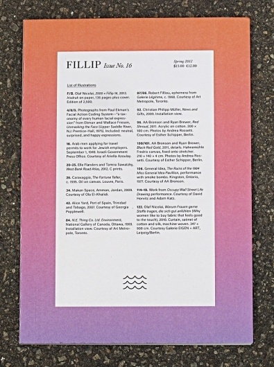 manystuff.org — Graphic Design daily selection » Blog Archive » Fillip 16: Berlin Launch #cover #fillip #magazine