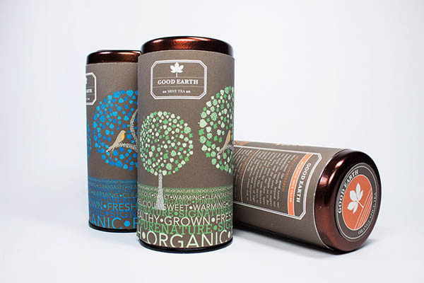 Good Earth Tea Packaging