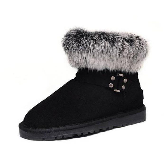 Ugg Women Fox Fur Mini 5859 Black #women #fox #fur #ugg