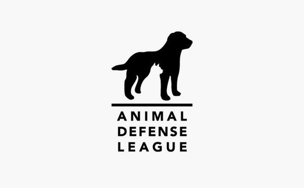animal defense league logo design #logo #design