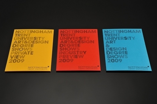 NTU Degree Shows 09 : Andrew Townsend #invite #stationary #typography