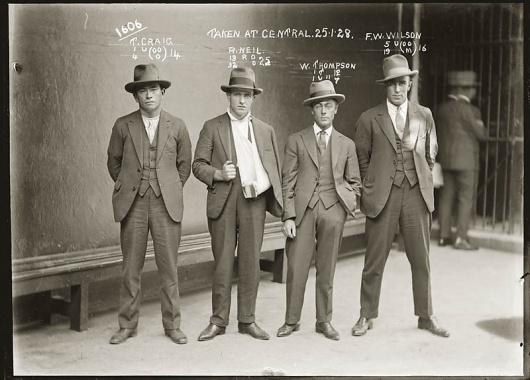 Vintage Mugshots from the 1920s [30 Photos] #aussie #mugshot #photograph