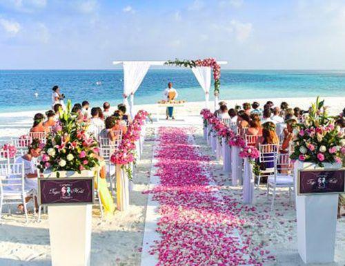 12 month wedding planning timeline beach wedding photo