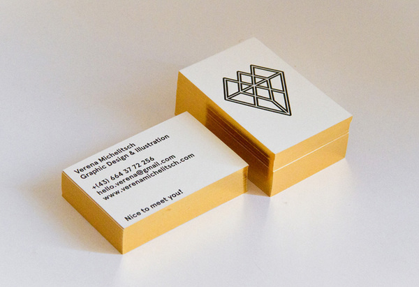 Verena Michelitsch Business Card