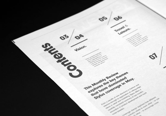 Review newspaper #page #print #newspaper #contents #layout #typography