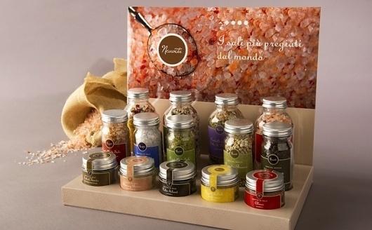 Neavita - Sapori e colori - 2012 #packaging #pack #salt #food