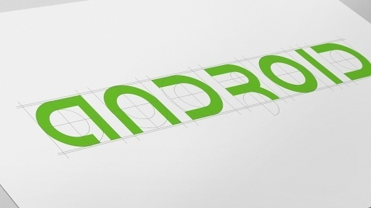 Android Brand Identity | Character | Branding & Design Agency #green #logo #identity #typography