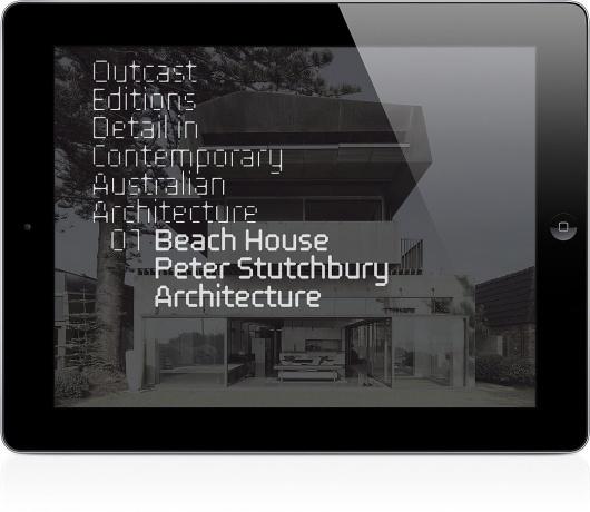 Outcast Editions | Stutchbury / Bench.li #typography