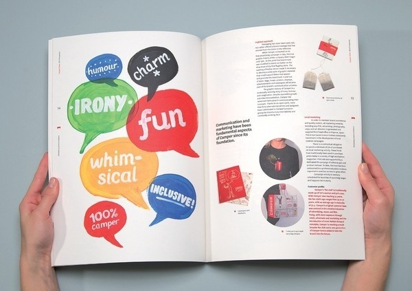 Best Awards Strategy Design and Advertising. / Camper #layout #book #typography