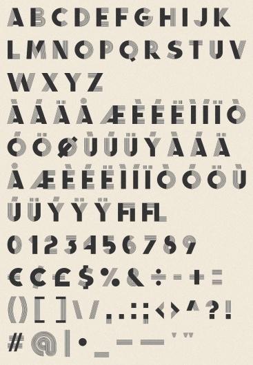 Fancy Antique Display - Infamous Foundry #type #deco #art #typography