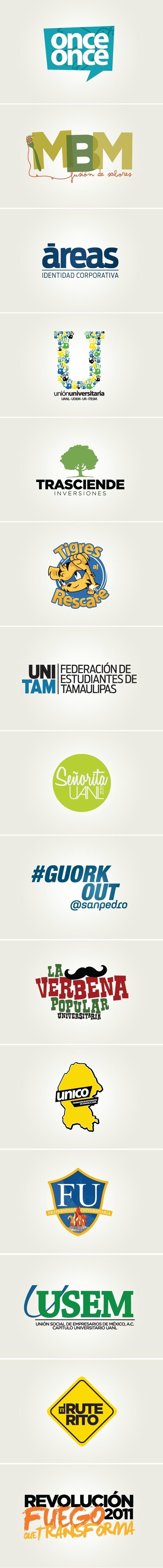 LO_GO_S 2011 on Behance #logotype #2011 #logos #2009 #branding #illustrator #design #graphic #brand #2010 #type #typography
