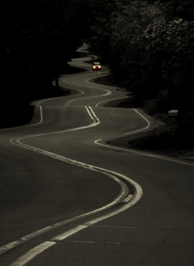 Supergraphic #photography #road #curves