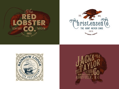 #badge #bundle #graphicdesign #hipster #identity #logo #logos #old #retro #stamps #template #vintage