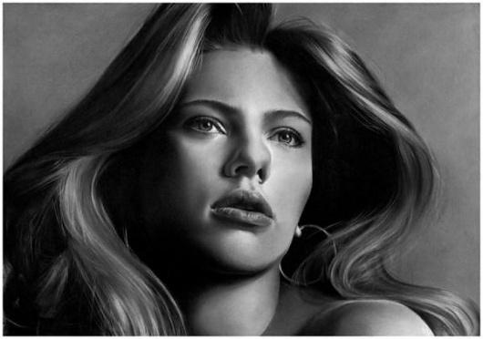 Pencil Sketch Portraits by Anna-Maria | Cuded #portraits #pencil #sketch