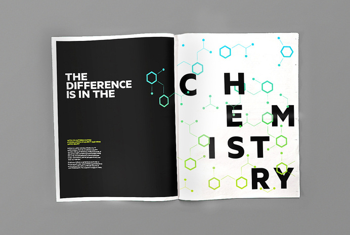 Pharmaceutical newsprint brand book