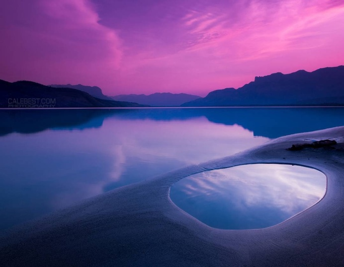 Stunning Night Landscape Photography by Cale Best