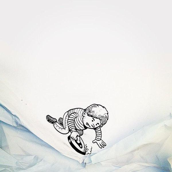 CJWHO ™ (Superb Creative Artworks by Alex Solis Alex...) #drawings #crafts #design #illustration #art #clever #funny