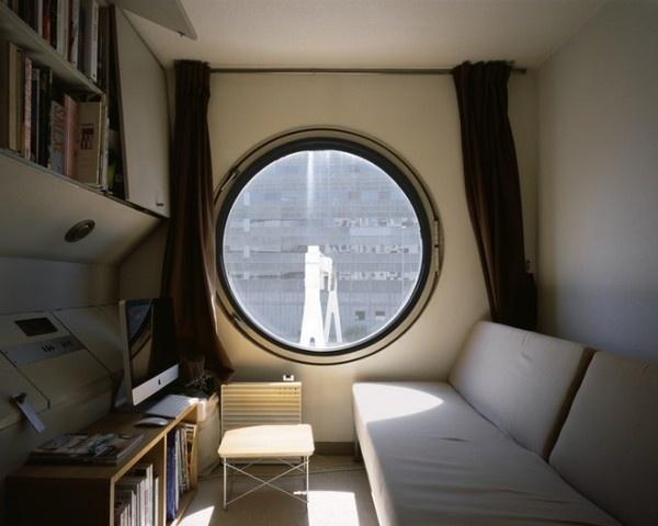 Nakagin Capsule Tower 2 #interior #design #capsule #building #architecture #window #cube