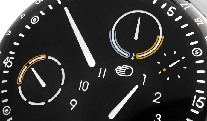 watch, dial, interface
