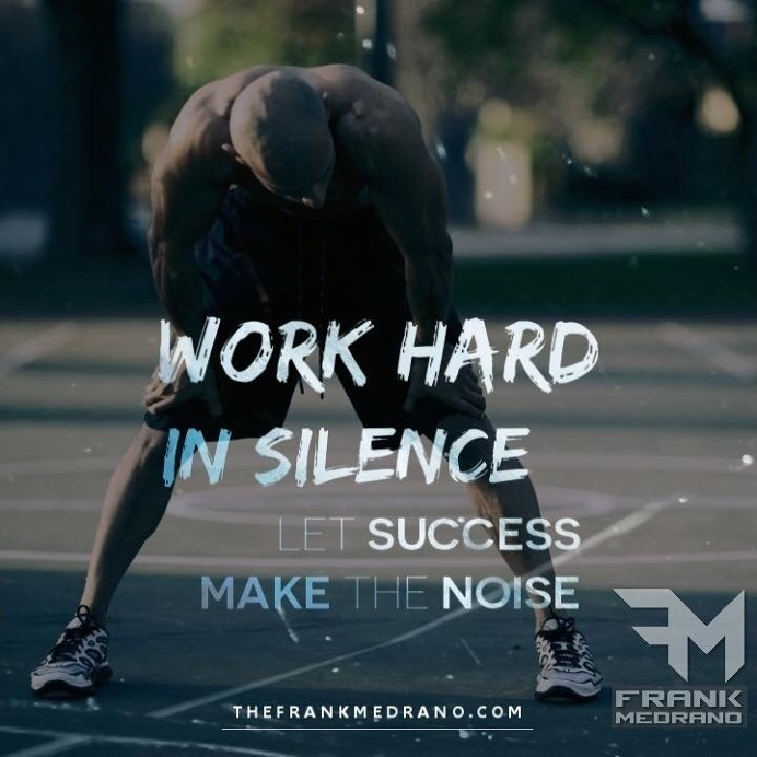 Best Quote Work Hard Silence Success Images On Designspiration