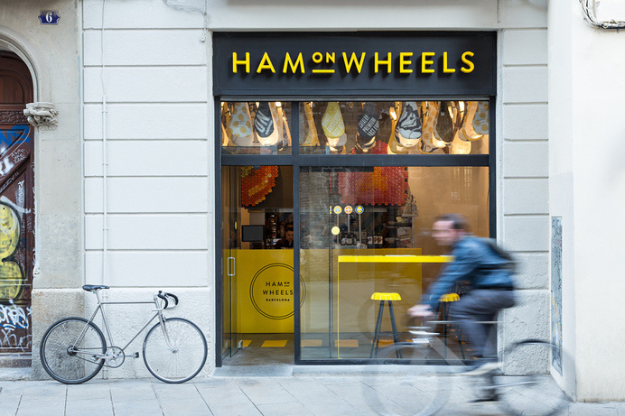Forma & Co — Ham on Wheels #sign #signage #store #front