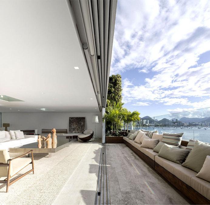 Ultra Luxury Penthouse in Rio de Janeiro spectacular windows terraces #outdoor #view