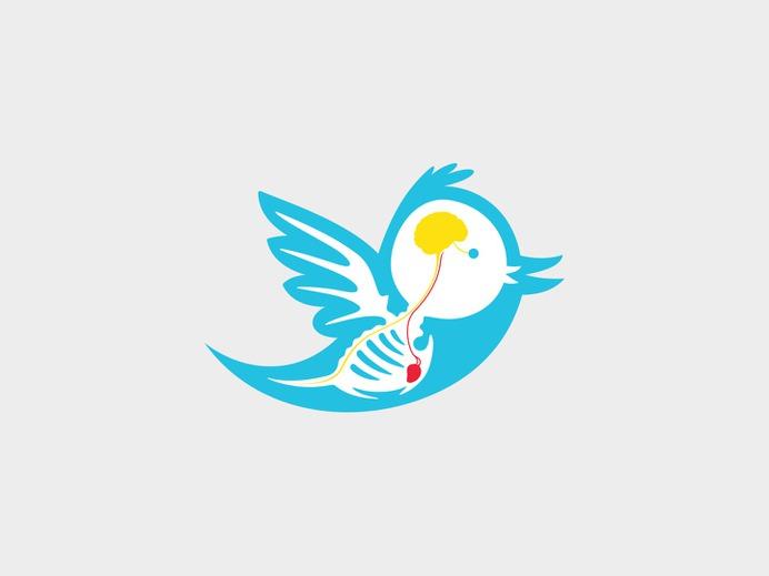 Twitter Logo X-Ray — MKN Design