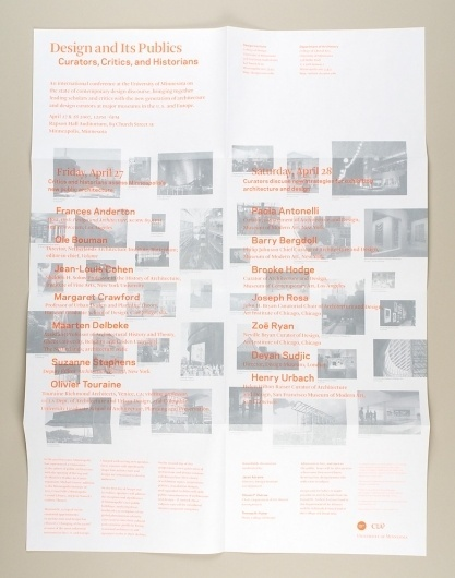 Project Projects — Design and its Publics #print #minnesota #architecture #poster