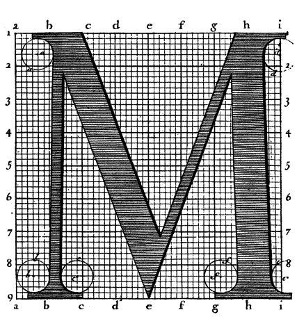 Roman du Roi #construction #type #grid #typography