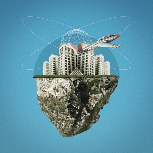 Rock & World #13decembre #illustration #collage #geometry