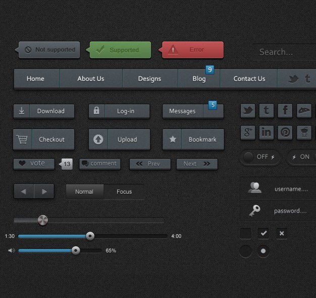 Ui elements ui kit ui pack user interface Free Psd. See more inspiration related to Elements, Ui, User, Interface, Pack, Ui kit, User interface, Ui elements, Horizontal and Kit on Freepik.