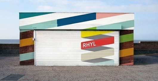 The Fox Is Black » The Town of Rhyl Gets A Refreshed Identity from Proud Creative #building #identity #branding