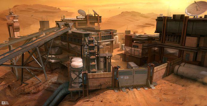 Mars+rock+quarry+by+Mike+Garn+-+concept+art+for+Call+of+Duty+Infinite+Warfare.jpg (1877×962)