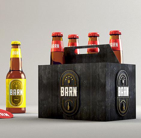 Beer Barn Brazil Packaging #beer #label #bottle