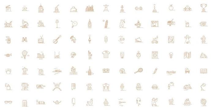 Memory Palace Game Icon Design #icon #icons #line #stroke #picto #iconic #iconset