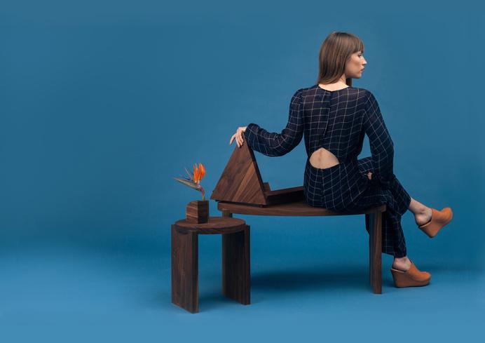 S H A P E S furniture line | Sallie Harrison Design Studio