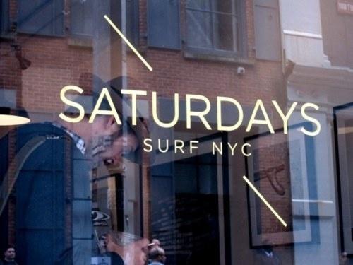 surf and skate #nyc #saturdays #surf #logo