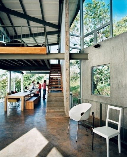 WANKEN - The Blog of Shelby White » Central America Tuscania House #house #modern #living #architecture #central #america #room