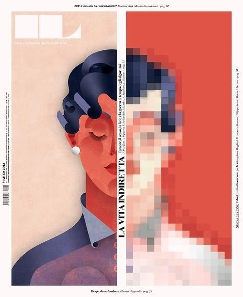 IL | magazine love #cover #illustration #editorial