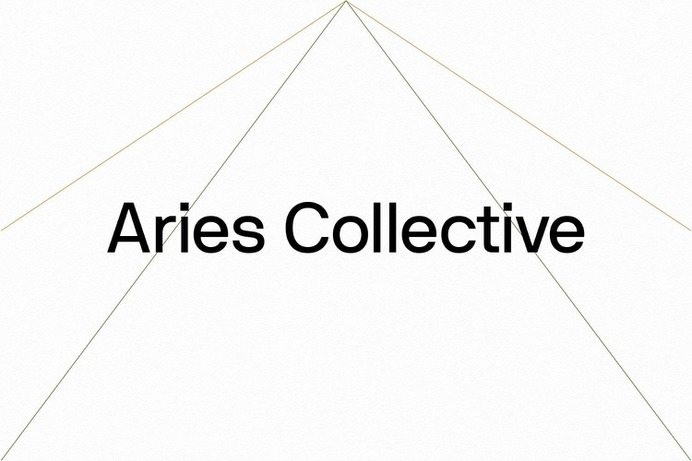 Aries Collective - Mindsparkle Mag To realize their brand's visual identity, Aries Collective enlisted a member of their portfolio—Grammar. #logo #packaging #identity #branding #design #color #photography #graphic #design #gallery #blog #project #mindsparkle #mag #beautiful #portfolio #designer