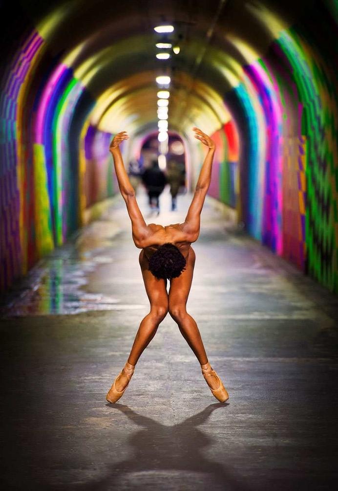 Dancers After Dark Portrait Series by Jordan Matter