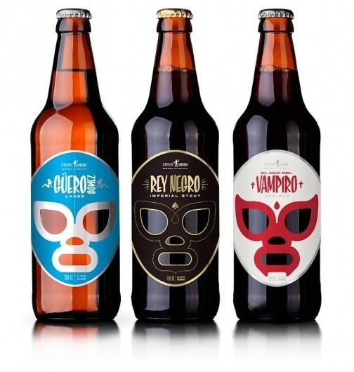 Looks like good Graphic Design by José Guízar #beer #from #mexico #by #guzar #jos