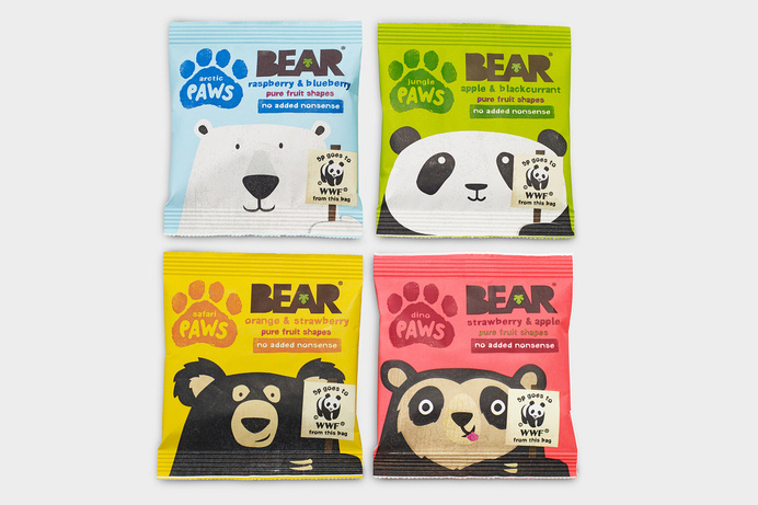 Bear Paws — The Dieline #packaging