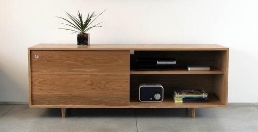 Classic Credenza - Eastvold Furniture #modern #storage #wood #furniture #mid #century