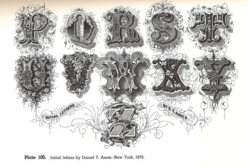Typeverything.com @typeverythingHere's page 2... - Typeverything #caps #old #drop #ornamental #decorative #typography